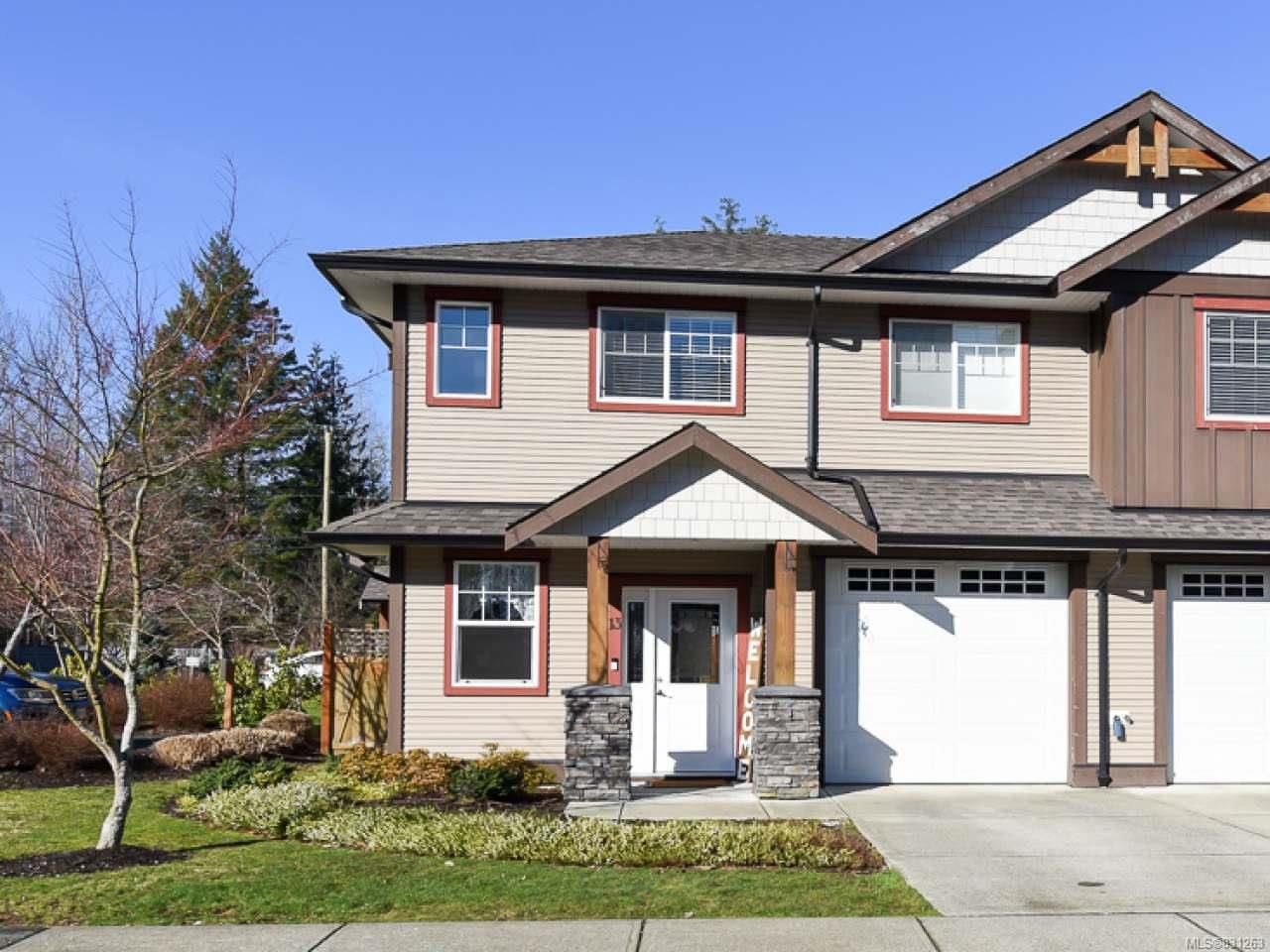 Main Photo: 13 2112 Cumberland Rd in COURTENAY: CV Courtenay City Row/Townhouse for sale (Comox Valley)  : MLS®# 831263