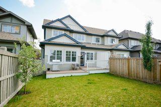 Photo 39: 4073 ALLAN Crescent in Edmonton: Zone 56 House Half Duplex for sale : MLS®# E4256367