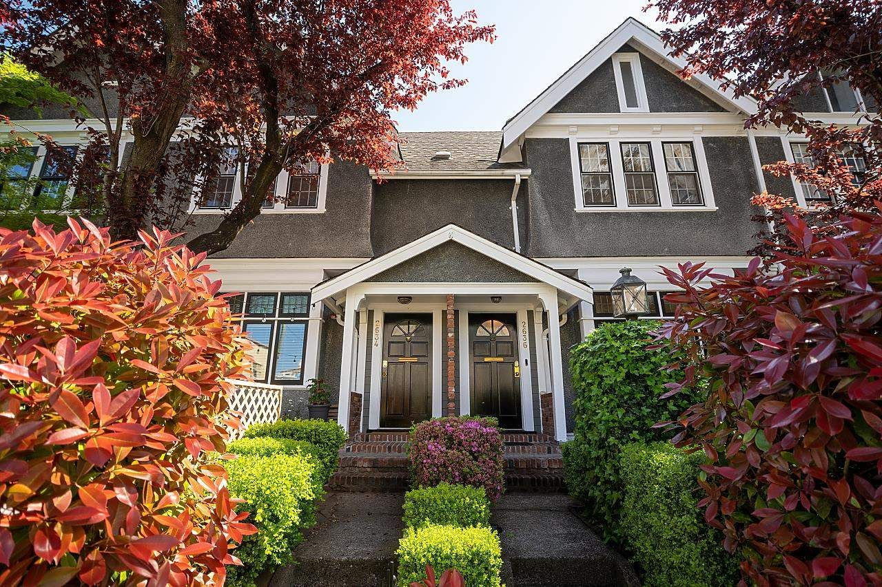Main Photo: 2636 HEMLOCK Street in Vancouver: Fairview VW Townhouse for sale (Vancouver West)  : MLS®# R2597799