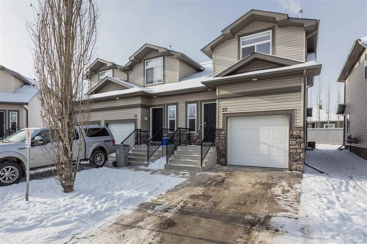 Main Photo: 37 9511 102 Ave: Morinville Townhouse for sale : MLS®# E4227386