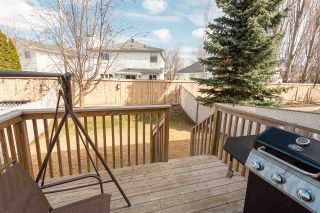 Photo 34: 23 16933 115 Street in Edmonton: Zone 27 House Half Duplex for sale : MLS®# E4239637