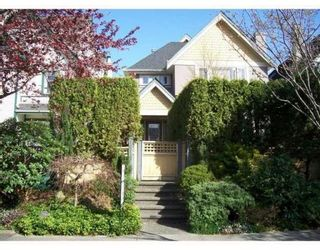 Photo 1: 1819 CREELMAN AV in Vancouver: Condo for sale : MLS®# V815473