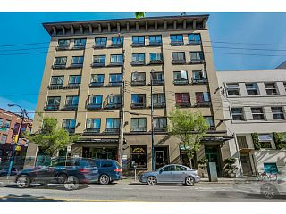 Photo 1: # 510 1216 HOMER ST in Vancouver: Yaletown Condo for sale (Vancouver West)  : MLS®# V1129571