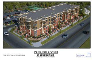 "Photo 1: 415 10688 140 Street in Surrey: Whalley Condo for sale in ""TRILLIUM LIVING"" (North Surrey)  : MLS®# R2401436"