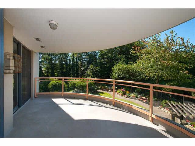"""""""Imagine lounging on this huge absolutely private balcony and enjoying the garden views. There is ample room for a table"""