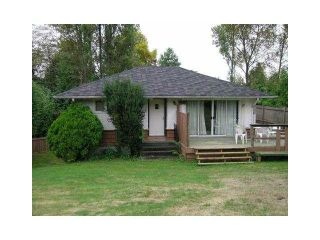 Photo 1: 4042 MARINE Drive in Burnaby: Big Bend House for sale (Burnaby South)  : MLS®# V1086550