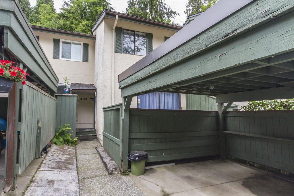 """Main Photo: 169 JAMES Road in Port Moody: Port Moody Centre Townhouse for sale in """"TALL TREES ESTATES"""" : MLS®# R2185076"""