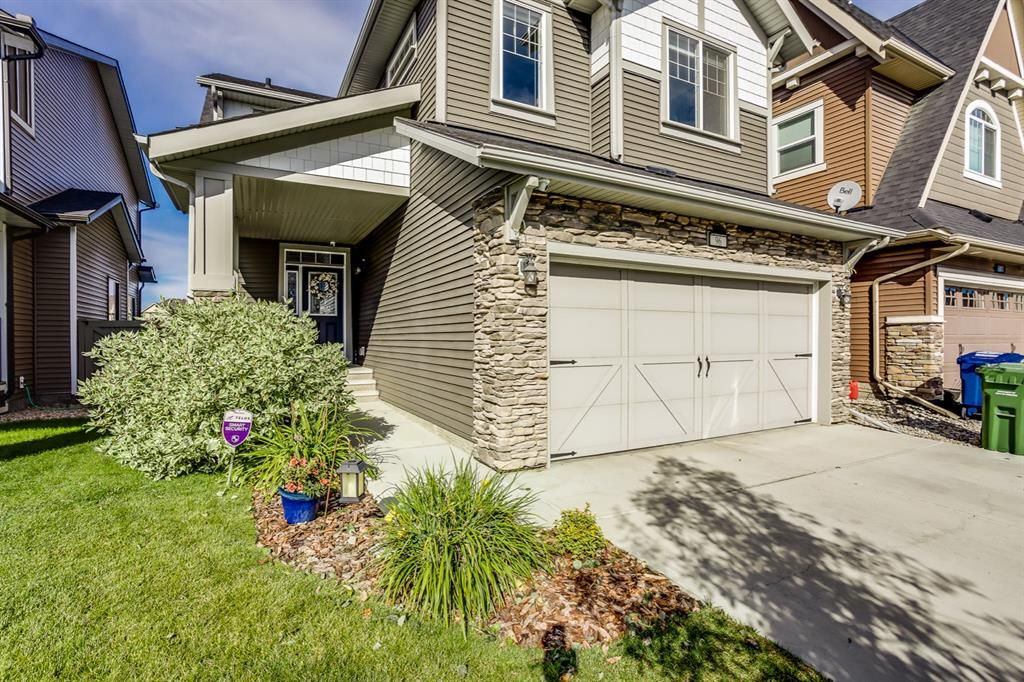 Welcome to 96 Cooperstown Place. A home with 4 Bedrooms up plus a Bonus area. Notice the covered porch as you enter this home.
