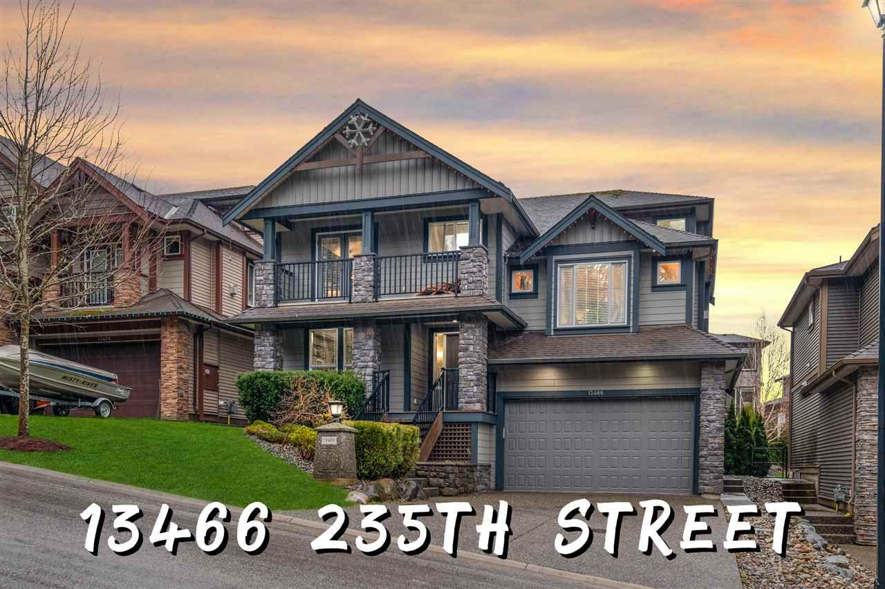 """Main Photo: 13466 235TH Street in Maple Ridge: Silver Valley House for sale in """"Balsam Creek"""" : MLS®# R2539018"""