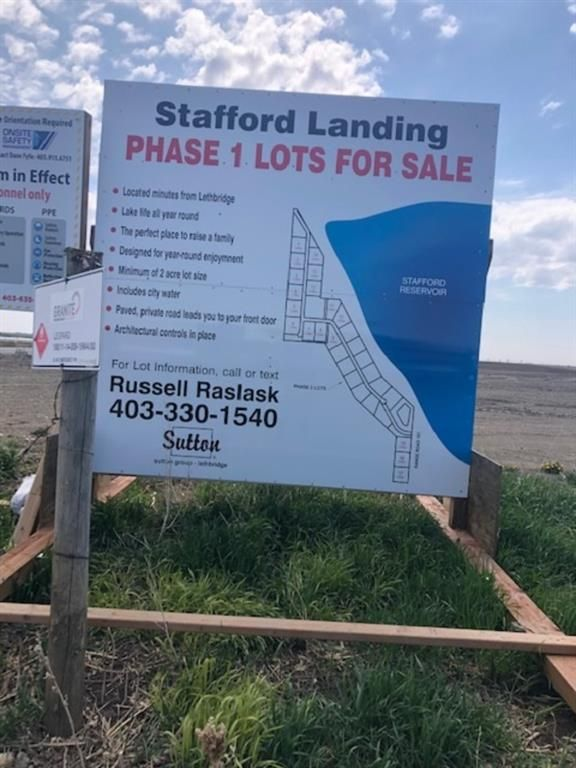 Main Photo: 13 191041 Township Road 93 in Coaldale: NONE Land for sale : MLS®# A1032654