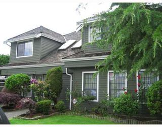 "Photo 1: 9224 EVANCIO Crescent in Richmond: Lackner House for sale in ""REDWOOD"" : MLS®# V756652"