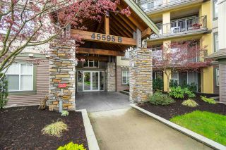 "Photo 1: 208B 45595 TAMIHI Way in Chilliwack: Vedder S Watson-Promontory Condo for sale in ""THE HARTFORD"" (Sardis)  : MLS®# R2538498"
