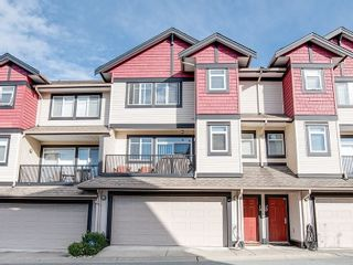 """Photo 1: 19 7168 179 Street in Surrey: Cloverdale BC Townhouse for sale in """"OVATION"""" (Cloverdale)  : MLS®# R2311901"""