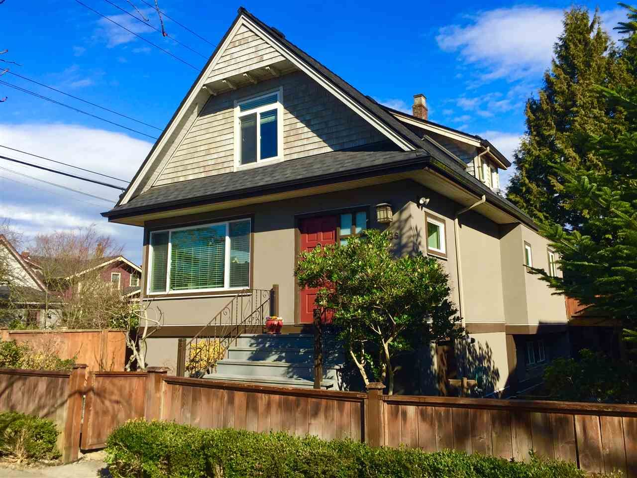 "Main Photo: 2636 PRINCE ALBERT Street in Vancouver: Mount Pleasant VE House for sale in ""Mt Pleasant"" (Vancouver East)  : MLS®# R2346370"