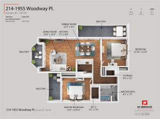 """Photo 36: 214 1955 WOODWAY Place in Burnaby: Brentwood Park Condo for sale in """"Douglas View"""" (Burnaby North)  : MLS®# R2507334"""