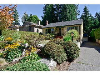 Photo 1: 2046 W KEITH Road in North Vancouver: Pemberton Heights House for sale : MLS®# V991189
