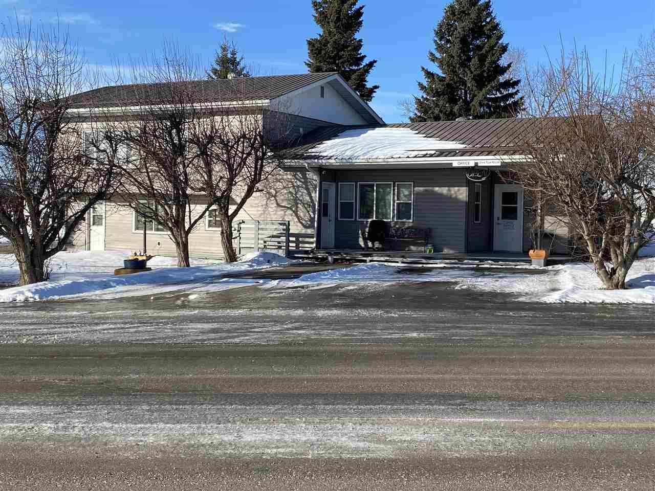 Main Photo: 10034 100 Street: Taylor Business with Property for sale (Fort St. John (Zone 60))  : MLS®# C8036977