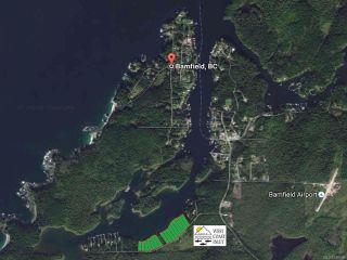 Main Photo: LT 13 S Bamfield Rd in : PA Bamfield Land for sale (Port Alberni)  : MLS®# 746696