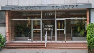 "Photo 1: 701 1445 MARPOLE Avenue in Vancouver: Fairview VW Condo for sale in ""HYCROFT TOWER"" (Vancouver West)  : MLS®# R2432831"