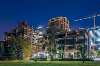 Photo 1: 203 600 Princeton Way SW in Calgary: Eau Claire Apartment for sale : MLS®# A1059029