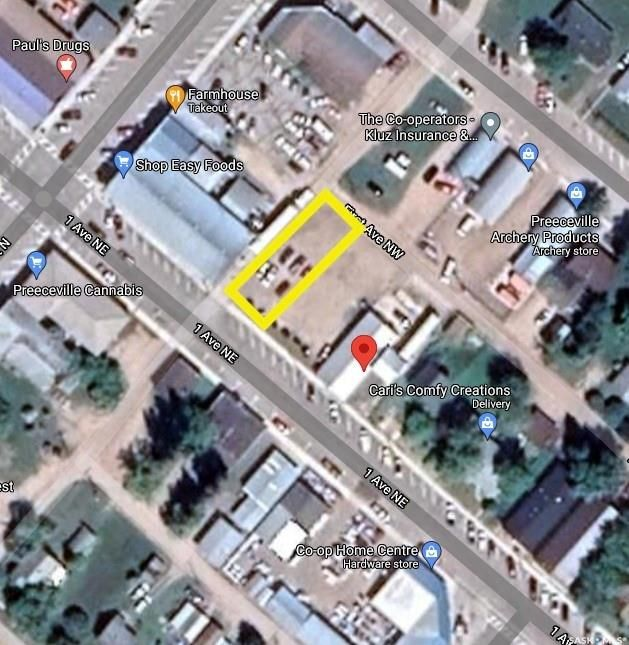 Main Photo: 18 1st Avenue Northeast in Preeceville: Commercial for sale : MLS®# SK851730