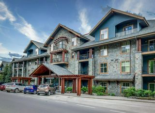 Photo 1: 114RotB 1818 Mountain Avenue: Canmore Apartment for sale : MLS®# A1059414