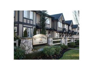 """Photo 1: 55 20176 68TH Avenue in Langley: Willoughby Heights Townhouse for sale in """"STEEPLECHASE"""" : MLS®# F1413179"""
