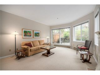 "Photo 3: 105 1265 W 11TH Avenue in Vancouver: Fairview VW Condo for sale in ""BENTLEY PLACE"" (Vancouver West)  : MLS®# V1060487"