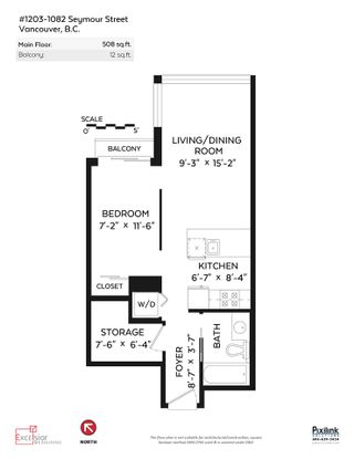 """Photo 20: 1203 1082 SEYMOUR Street in Vancouver: Downtown VW Condo for sale in """"FREESIA"""" (Vancouver West)  : MLS®# R2079739"""