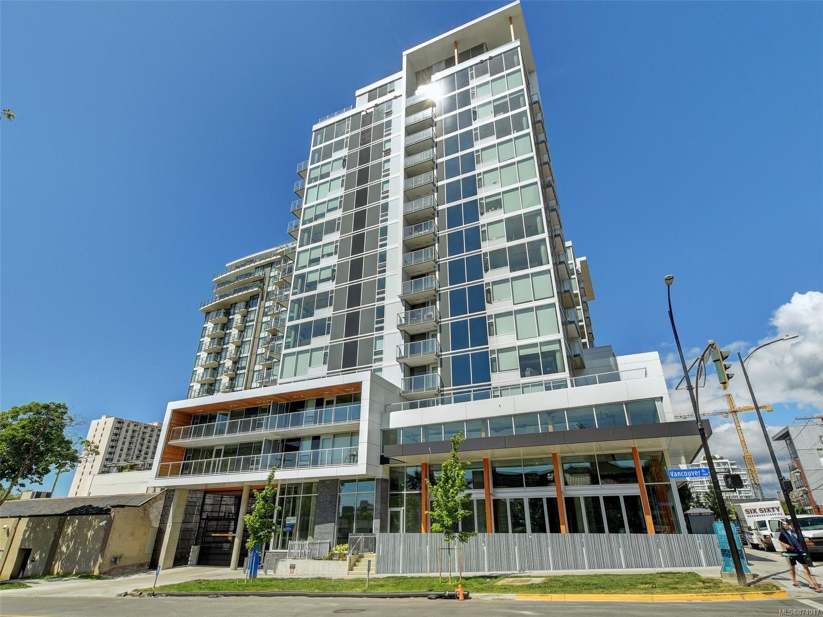 Main Photo: 1413 989 Johnson St in : Vi Downtown Condo for sale (Victoria)  : MLS®# 874947