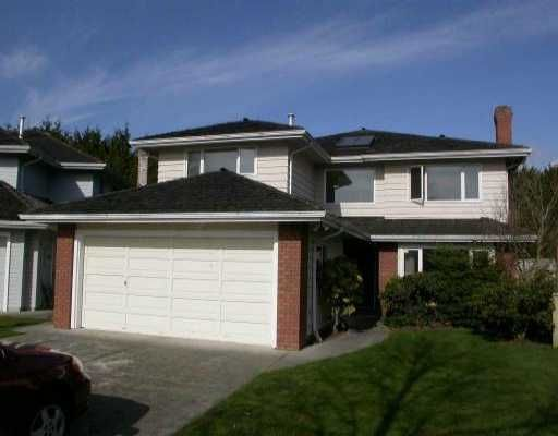 """Main Photo: 11080 CHICKADEE CT in Richmond: Westwind House for sale in """"WESTWIND"""" : MLS®# V524628"""