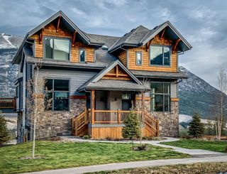 Photo 1: 1328 Three Sisters Parkway: Canmore Semi Detached for sale : MLS®# A1062409