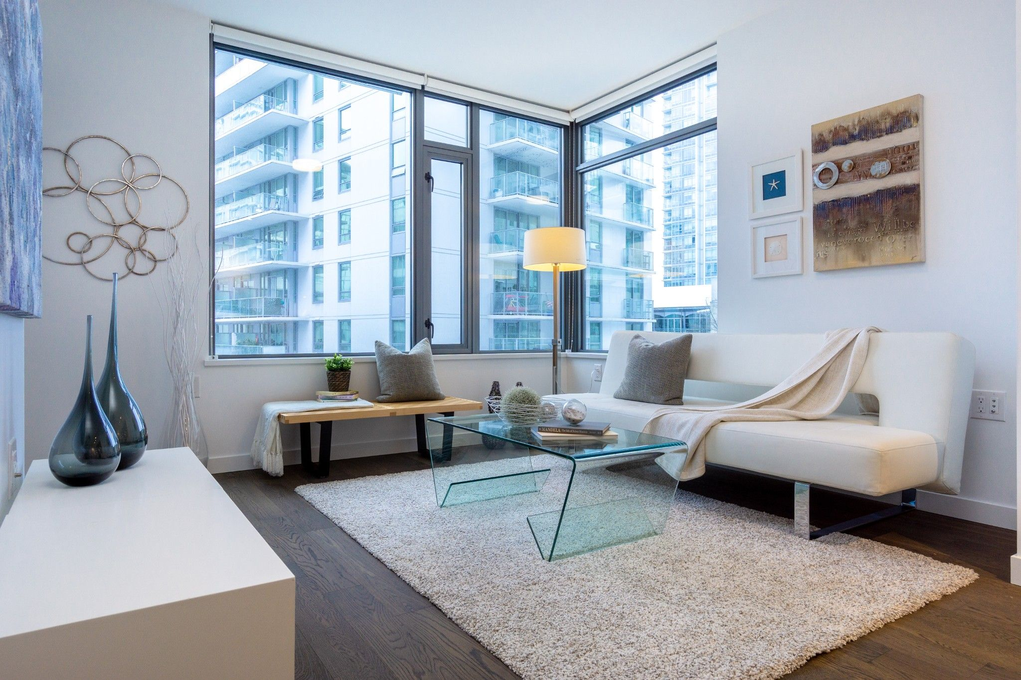 """Main Photo: 409 1688 PULLMAN PORTER Street in Vancouver: Mount Pleasant VE Condo for sale in """"NAVIO AT THE CREEK"""" (Vancouver East)  : MLS®# R2428474"""