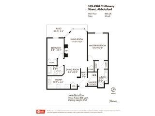 "Photo 20: 109 2964 TRETHEWEY Street in Abbotsford: Abbotsford West Condo for sale in ""Cascade Green"" : MLS®# R2421944"