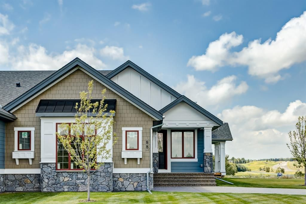 Main Photo: 88 Clear Creek Place in Rural Rocky View County: Rural Rocky View MD Semi Detached for sale : MLS®# C4280859
