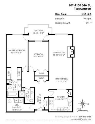Photo 20: 209 1150 54A STREET in Delta: Tsawwassen Central Condo for sale (Tsawwassen)  : MLS®# R2215445