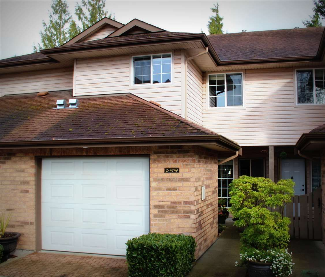 """Main Photo: 2 4749 54A Street in Delta: Delta Manor Townhouse for sale in """"ADLINGTON"""" (Ladner)  : MLS®# R2044631"""