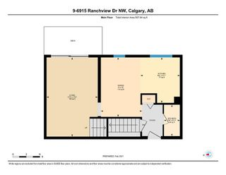 Photo 23: 9 6915 Ranchview Drive NW in Calgary: Ranchlands Row/Townhouse for sale : MLS®# A1072353