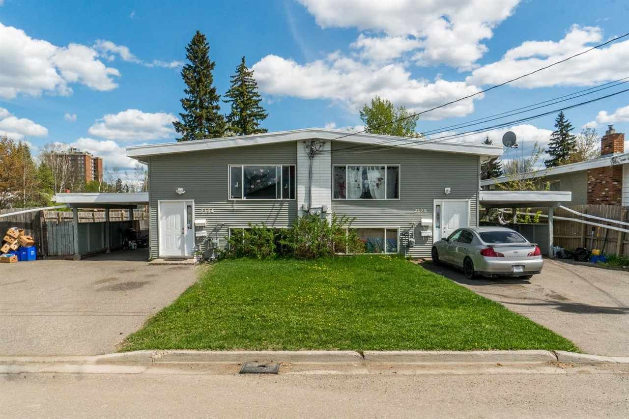 Main Photo: 2104 QUINCE Street in Prince George: VLA Fourplex for sale (PG City Central (Zone 72))  : MLS®# R2578585