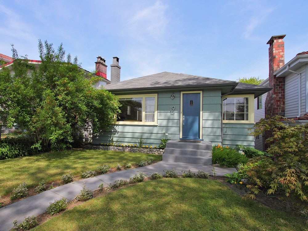 Main Photo: 19 WOODSTOCK Ave E in Vancouver East: Main Home for sale ()  : MLS®# V1005887