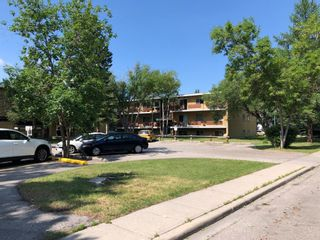 Main Photo: 101 3103 Blakiston Drive NW in Calgary: Brentwood Apartment for sale : MLS®# A1130082