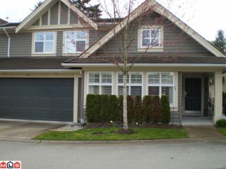 """Photo 1: 110 15500 ROSEMARY HEIGHTS Crescent in Surrey: Morgan Creek Townhouse for sale in """"THE CARRINGTON"""" (South Surrey White Rock)  : MLS®# F1007974"""