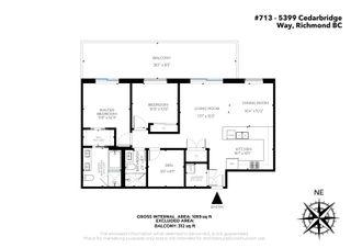 """Photo 37: 713 5399 CEDARBRIDGE Way in Richmond: Brighouse Condo for sale in """"RIVA"""" : MLS®# R2624157"""