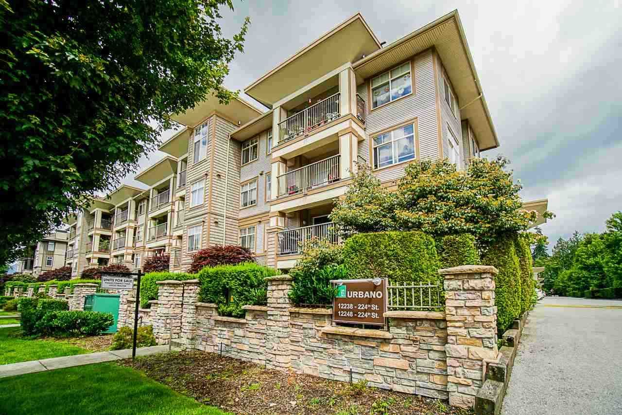 "Main Photo: 419 12248 224 Street in Maple Ridge: East Central Condo for sale in ""URBANO"" : MLS®# R2511898"