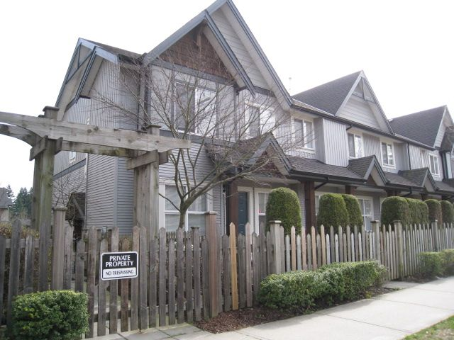 Main Photo: 90 8737 161st Street in Surrey: Fleetwood Tynehead Townhouse for sale : MLS®#  F1307593