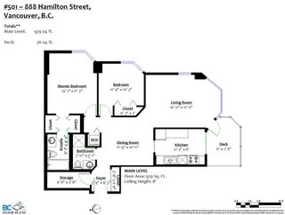 """Photo 33: 501 888 HAMILTON Street in Vancouver: Downtown VW Condo for sale in """"ROSEDALE GARDEN"""" (Vancouver West)  : MLS®# R2518975"""