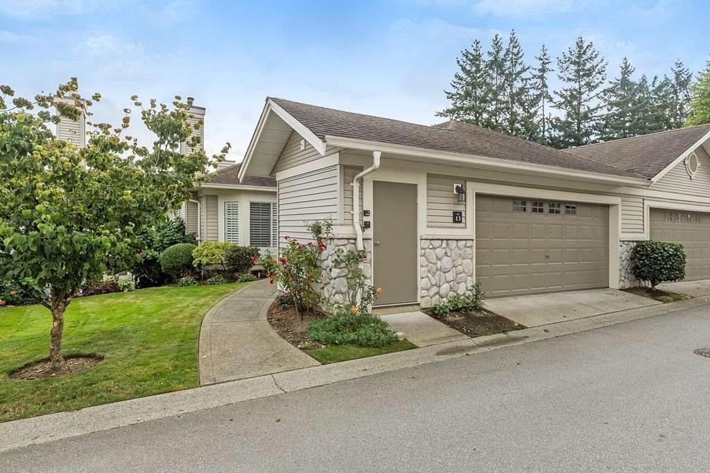 "Main Photo: 13 16888 80 Avenue in Surrey: Fleetwood Tynehead Townhouse for sale in ""Stonecroft"" : MLS®# R2208468"