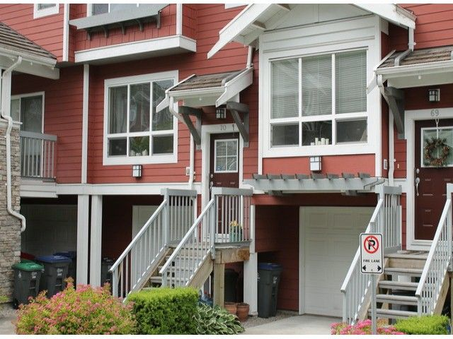 """Main Photo: 70 15168 36TH Avenue in Surrey: Morgan Creek Townhouse for sale in """"Solay"""" (South Surrey White Rock)  : MLS®# F1313507"""