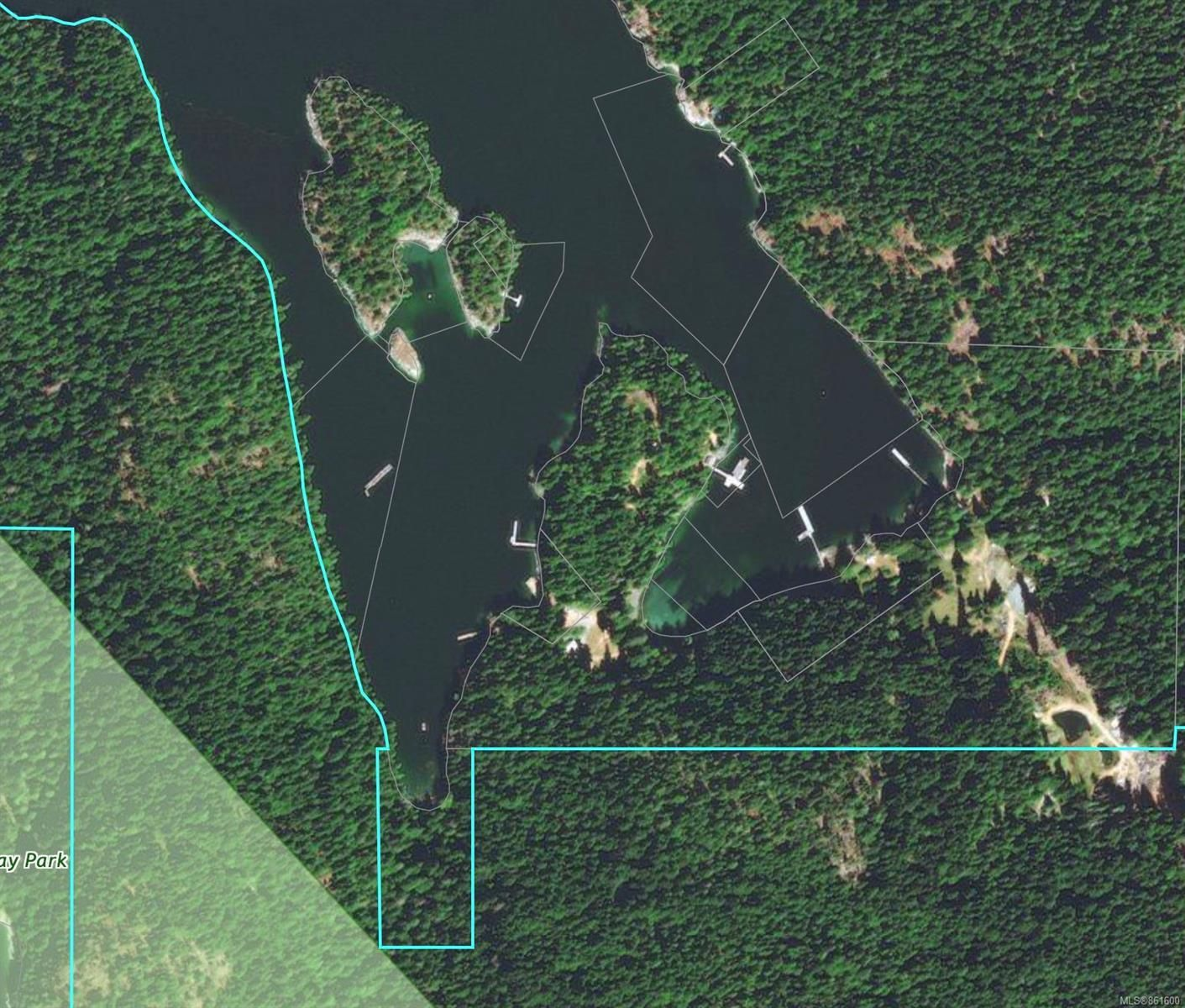 4.1 Acres at the head of the southern most bay in Quartz Bay, DL 1542 surrounded by Crown Provincial Land.