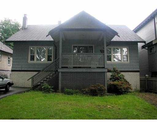 Main Photo: 426 W 13TH AV in Vancouver: Mount Pleasant VW House for sale (Vancouver West)  : MLS®# V540599